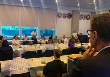 FDNY Commissioner observes TF46-lead DUT senior leadership forum