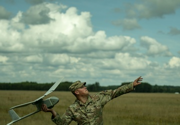 Dark Rifles take Battle Group Poland Raven training to new heights