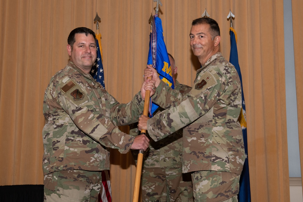 192nd MSG holds change of command ceremony