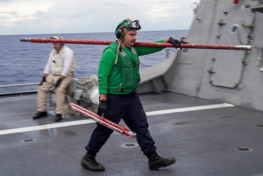 USS Charleston (LCS 18) Flight Operations
