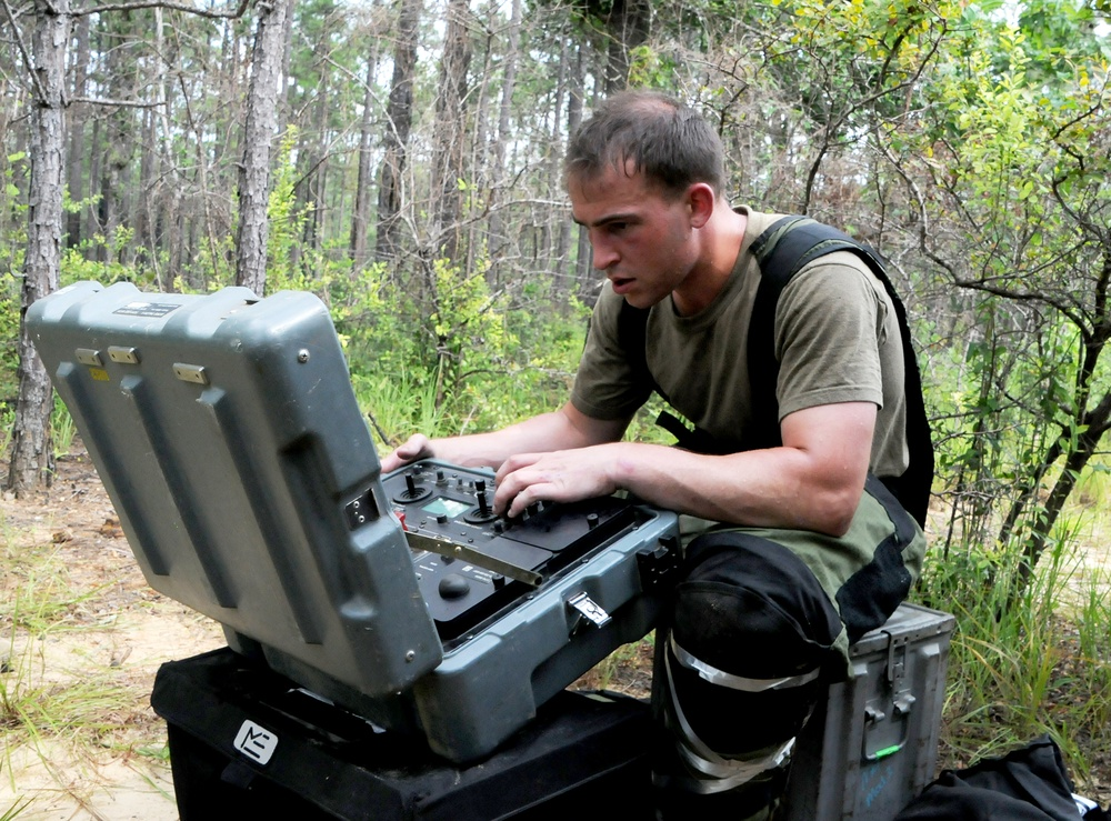 Not a walk in the park: EOD requires precision, nerves of steel