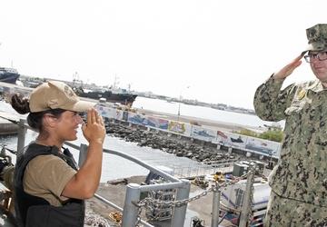 Camp Lemonnier Tours USS Monterey