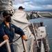 Command Master Chief Observes Underway Procedures Aboard USS Michael Murphy (DDG 112)