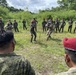 SFAB Soldiers train alongside Soldiers from the Philippine Army during Salaknib '21