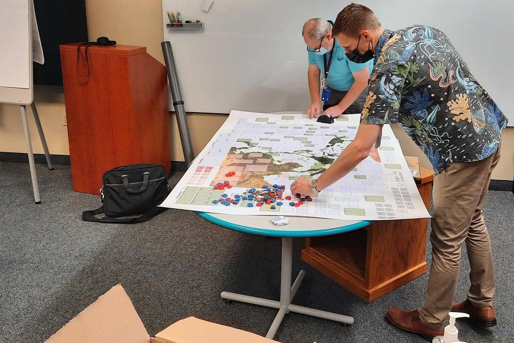 NUWC Division Keyport hosts sustainment and logistics based wargame development event