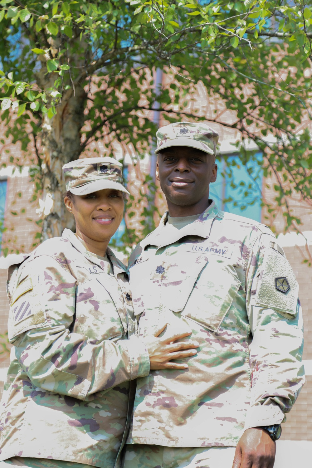 Dual Military Marriages are big 'Dills'