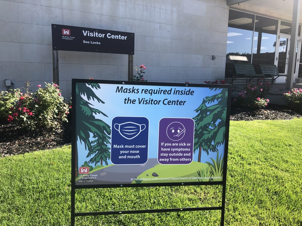 Soo Locks Visitor Center now requires masks