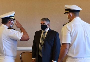 Dowd Assumes Command at Southeast Regional Maintenance Center