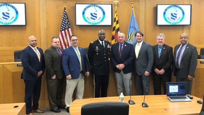 APG Commander briefs Harford Council