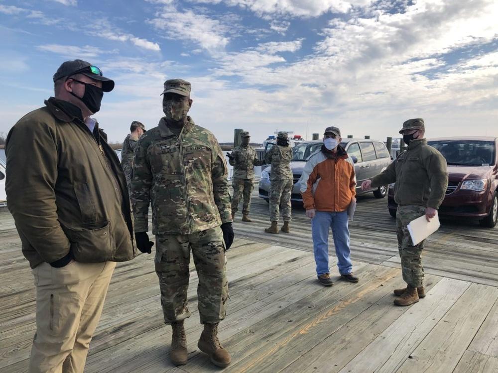 APG Senior Commander tours APG South (Edgewood) shoreline