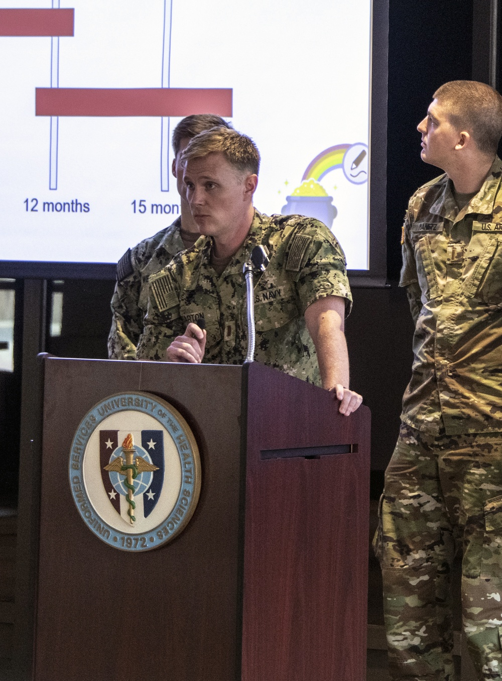 """USU Student """"Shark Tank""""-Inspired Event Paves Way for Future DoD Medical Innovations"""