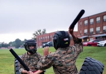 Marines Spar During MCMAP