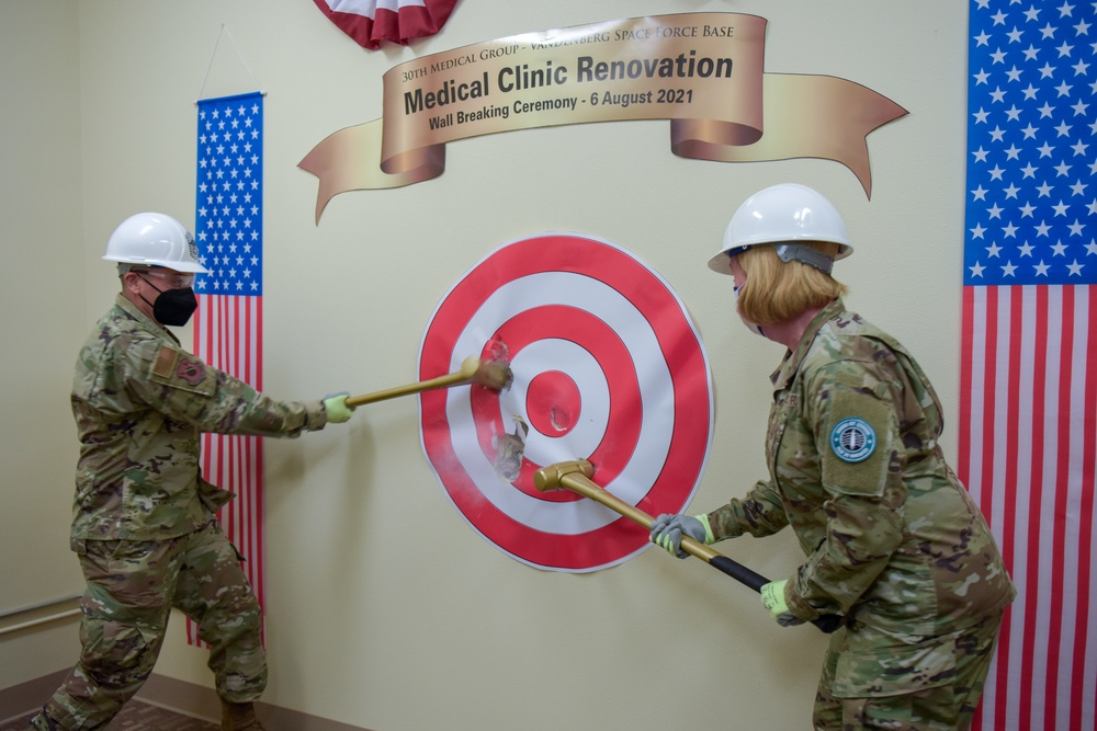 30th Medical Group Begins $32 Million Renovation Project