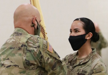 Harlingen based Army Reserve unit welcomes new command team