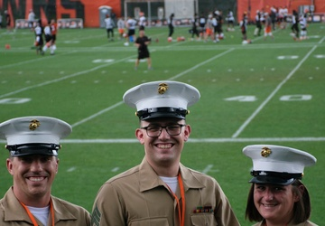 RS Cleveland Marines attend Browns Training Camp