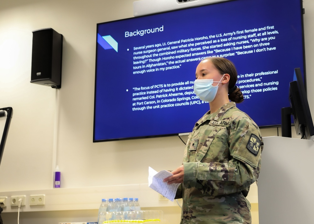 Month-long training aids in developing future Army nurses
