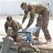 Service Members Train on French Swimming Obstacle Course