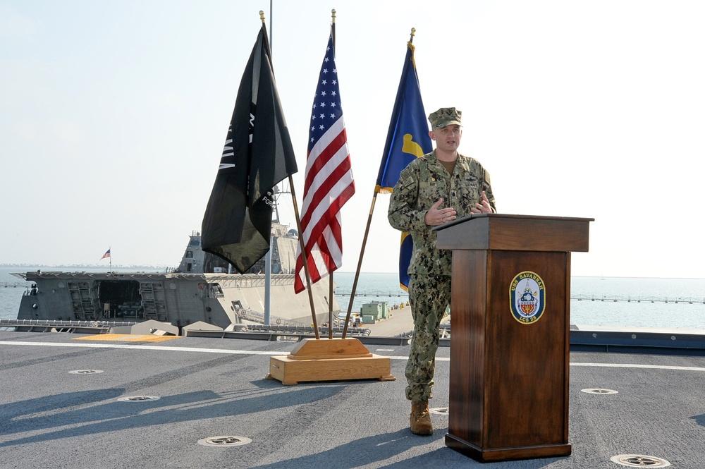 PCU Savannah Assumption of Command