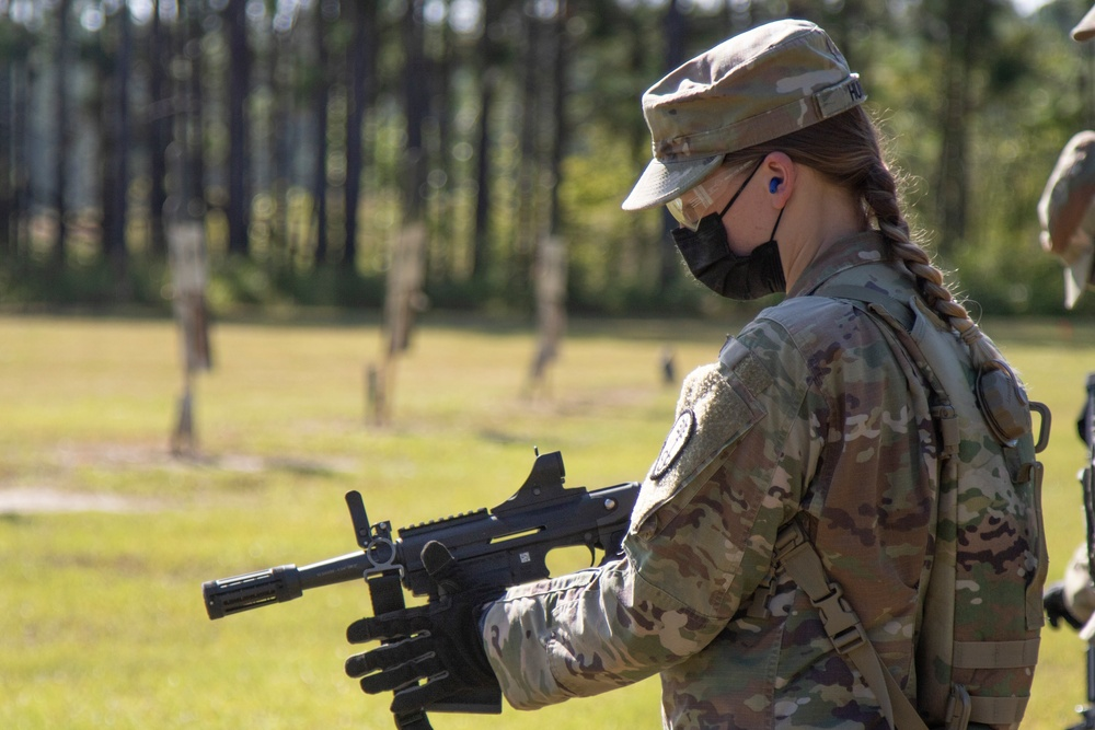 447th MP Company Mobilization Exercise