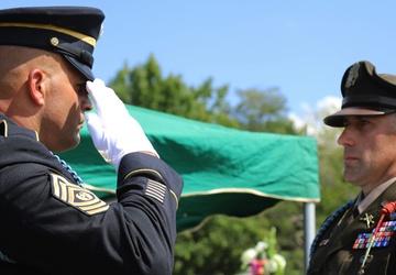 Pvt. Warren DaVault Returns Home