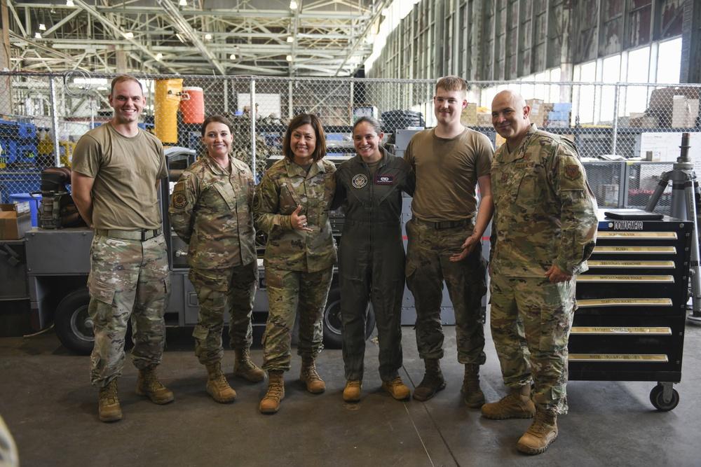 CMSAF visits Team Offutt