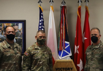 Sergeant Major of the Army Visits V Corps