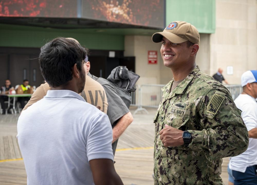 Sailors participate in the annual Atlantic City Air Show