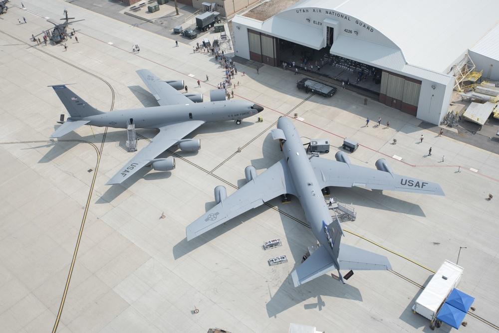UTANG demonstrates multi-domain battlespace connectivity on KC-135