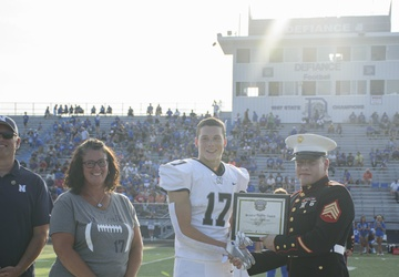 RS Cleveland Marines attend first GARS game of the year
