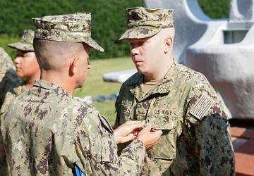 EA2 Daniel J. Julian earns Navy Achievement Medal
