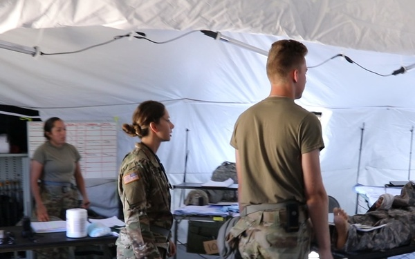 2021 Global Medic exercise at Fort McCoy tests new field hospital