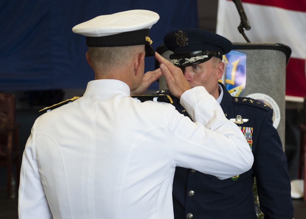 Joint Force Command Norfolk, U.S. 2nd Fleet Change of Command