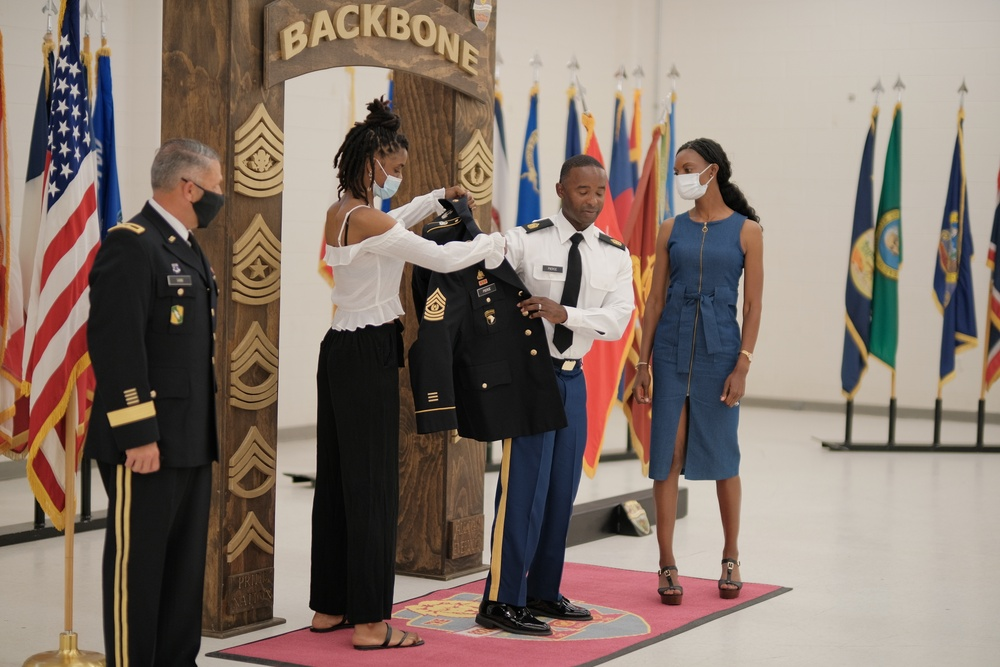 832nd Transportation Battalion senior NCO appointed to command sergeant major