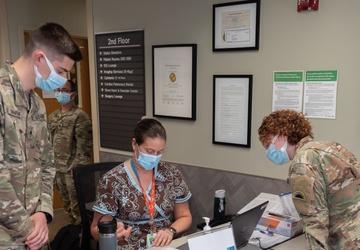 National Guard Soldiers Assist Roseburg Hospital