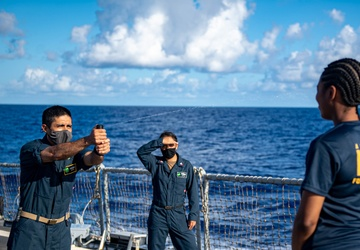 USS O'Kane (DDG 77) Conducts Security Training