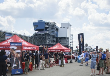 RS Cleveland at NASCAR event