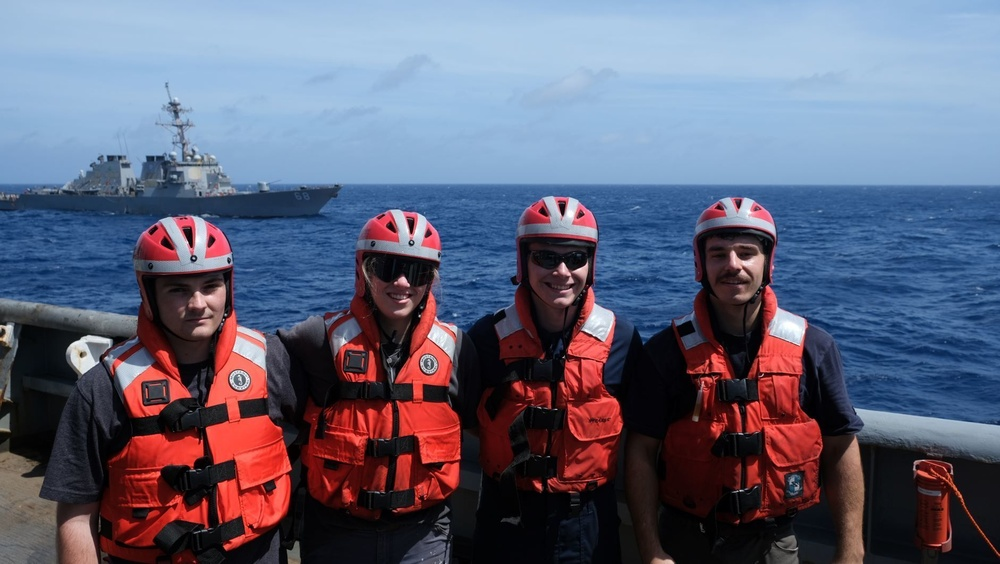 Future Maritime Officers Learn from Tippecanoe Crew