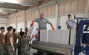 NAS Sigonella receives Afghan evacuees [Image 24 of 24]