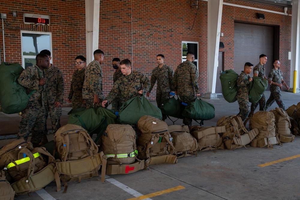 2nd Marine Aircraft Wing deploys to Haiti