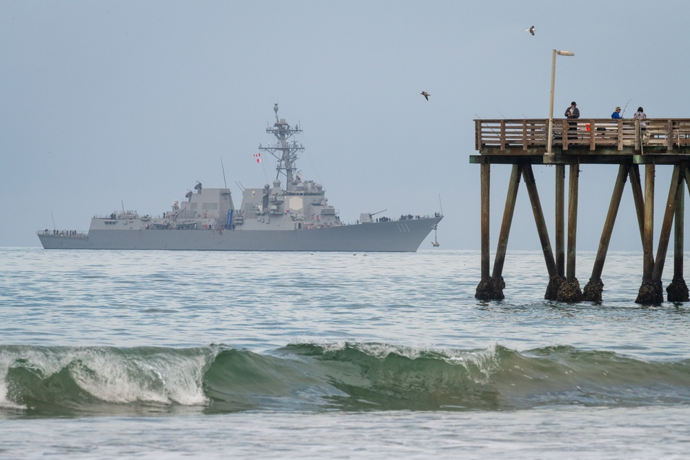 USS Spruance (DDG 111) Closes Out July as Last of Four Combat Systems Assessment Team Events for the Month for Naval Surface Warfare Center, Port Hueneme Division