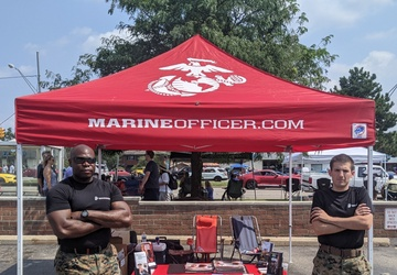 RS Cleveland Marines at Woodward Dream Cruise