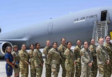 Mission success for 'unmanned' KC-10 flight