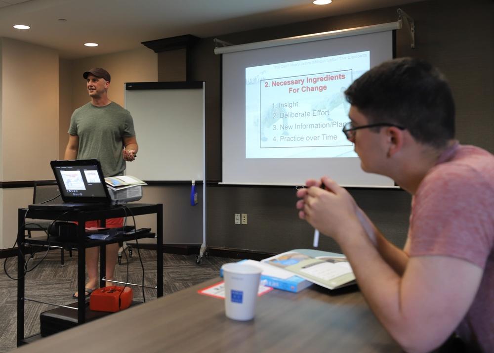 V Corps Hosts 'Don't Date A Jerk' Workshop