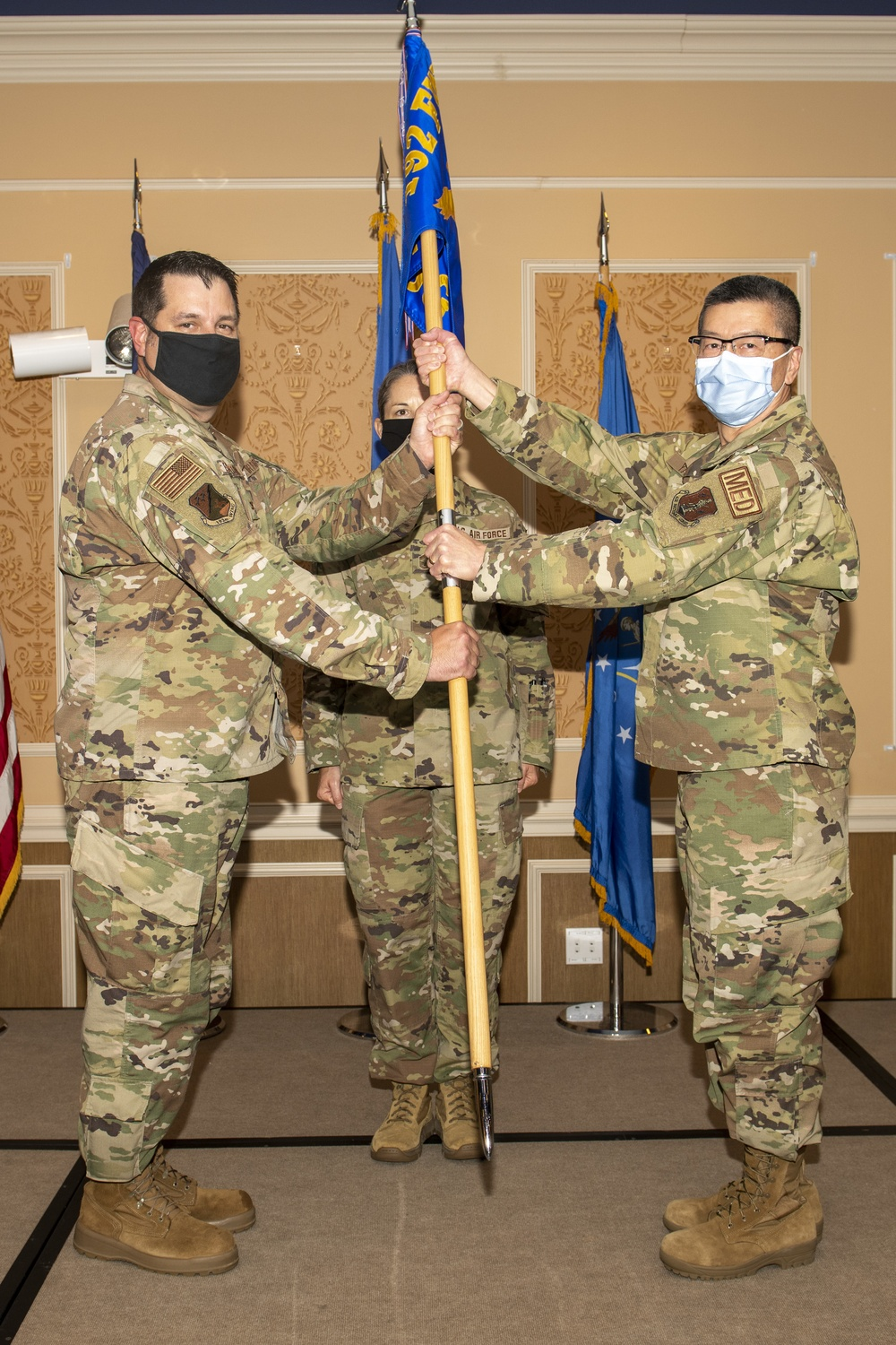 Yang takes command of the 192nd MDG as Price retires
