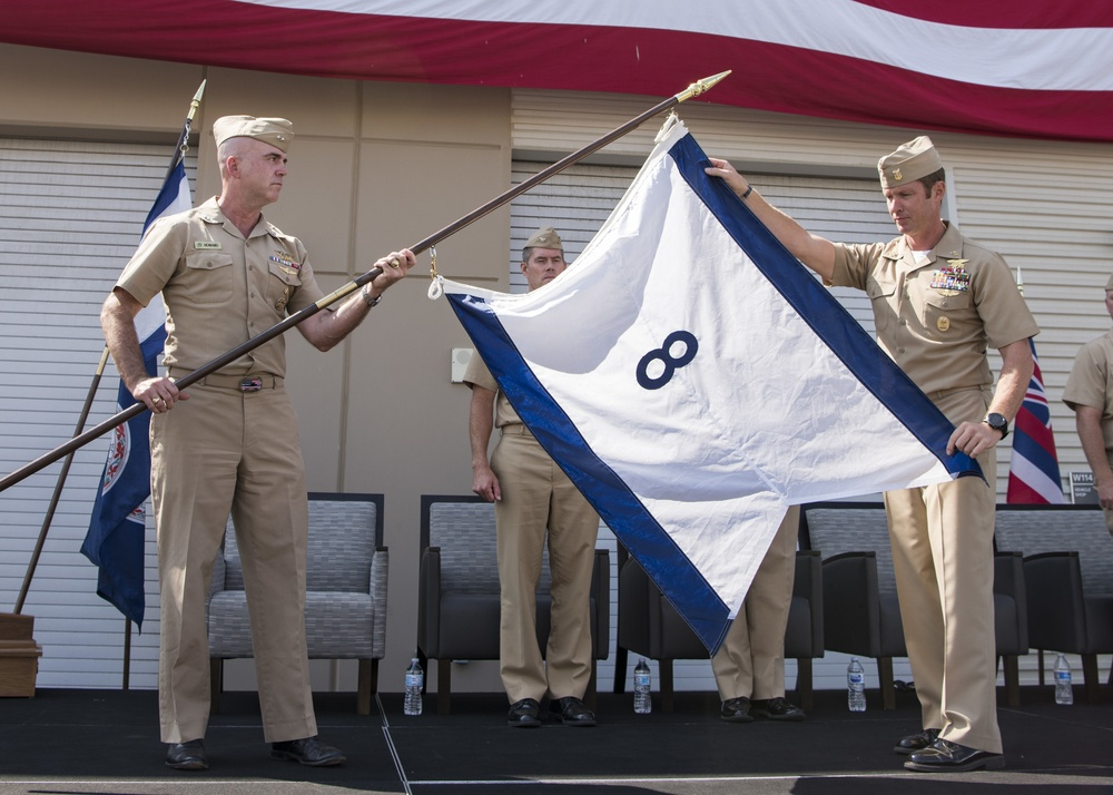 U.S. Naval Special Warfare Command Establishes Group Eight, Disestablishes Groups Three and Ten