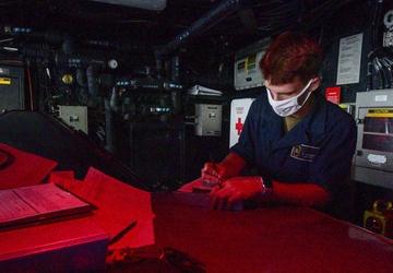 USS John P. Murtha (LPD 26) Pilot House