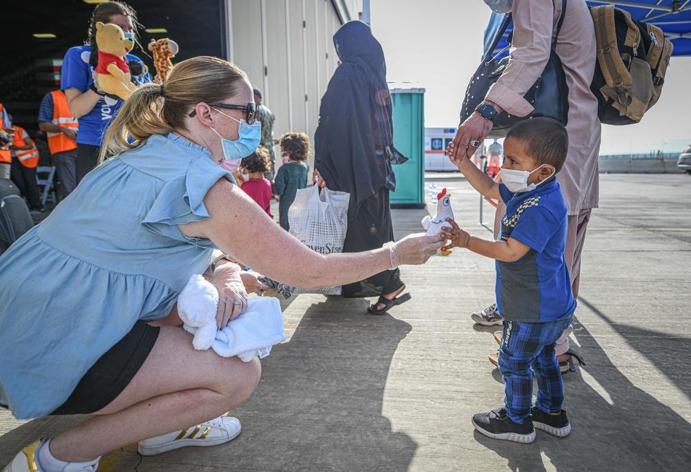 NAS Sigonella receives Afghanistan evacuees