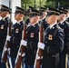 U.S. Park Police Participate in an Army Full Honors Wreath-Laying Ceremony at the Tomb of the Unknown Soldier