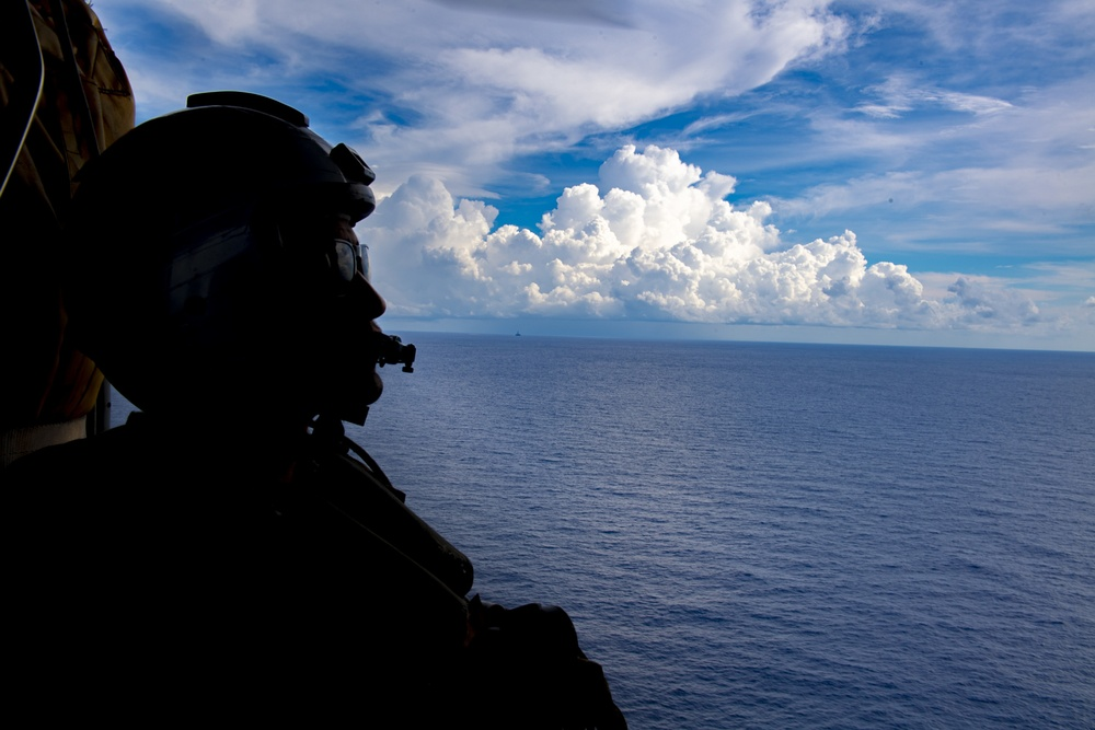 USS Tulsa (LCS 16) Sails In The South China Sea