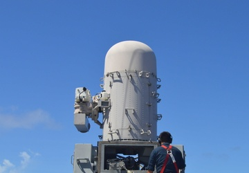 USS Lake Champlain (CG 57) Close-In Weapon System